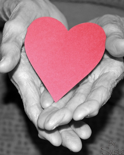 Sometimes we need to carry our heart in our hands to be effective in helping others.