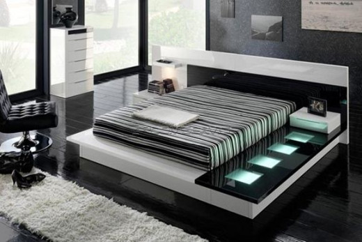 classy bed design