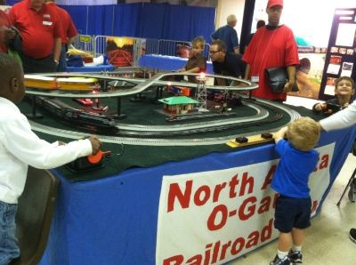 The North Atlanta Railroad Club Display in O Gauge
