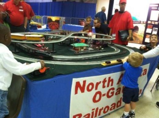The North Atlanta Railroad Club Display in O Gauge