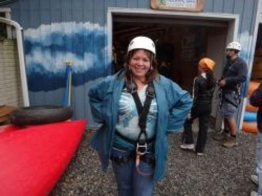 zipline ziplining