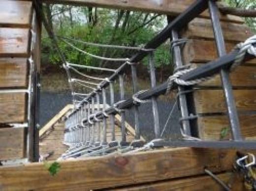 zip line ladder