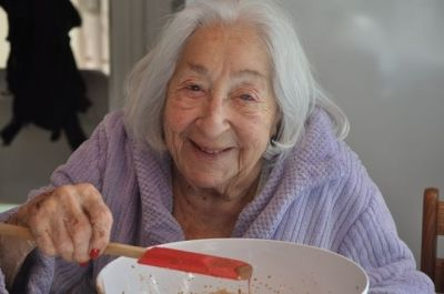 Long after Mom stopped cooking, she loved licking the bowls.