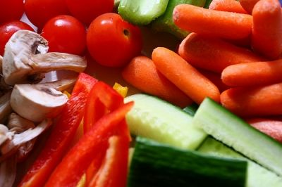 Eating fresh vegetable, fruit and drinking water is the first step in the prevention of acne