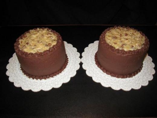 4 layer German Chocolate Cake