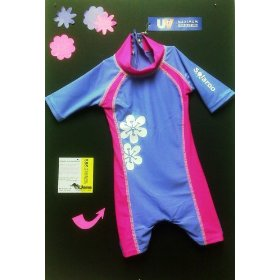 Sun Protection Swimsuit-1 pc ELBOW TO KNEEE PROTECTION!