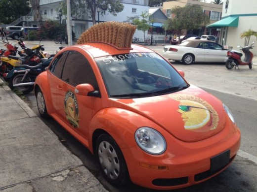 key west shock top car