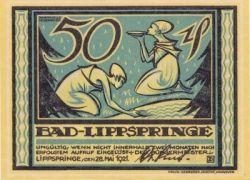 Bad Lippspringe Notgeld