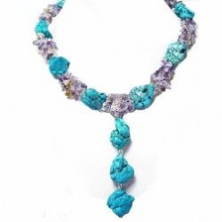 Big Chunky Turquoise Necklaces