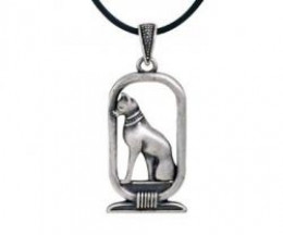 Bastet Pendant - Collectible Medallion Necklace Accessory Jewelry