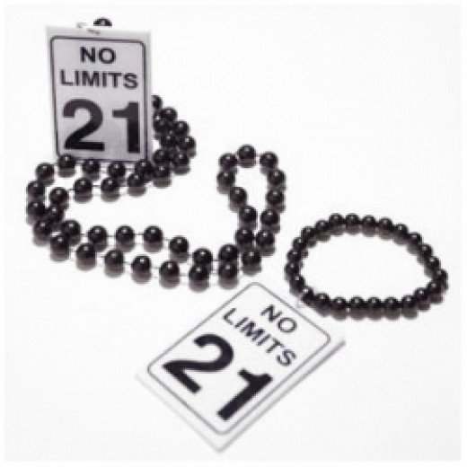 No Limits 21 Necklace Beads