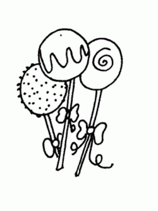 cakepop clipart