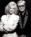 George Jones and Tammy Wynette