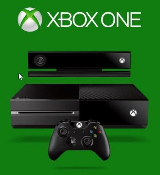 Xbox One console and the Kinect