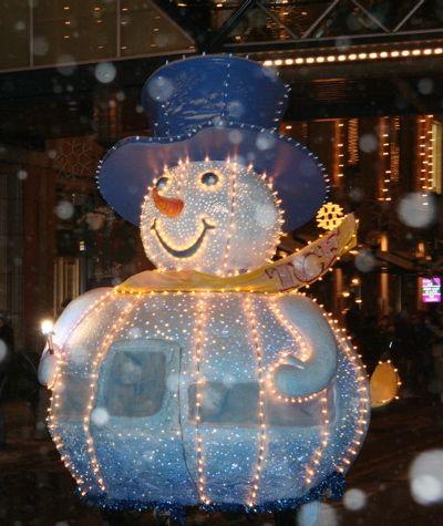 Spinning Snowman