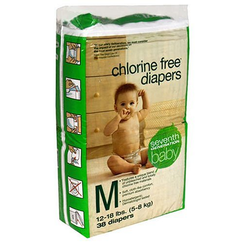 Seventh Generation Diapers are biodegradable!