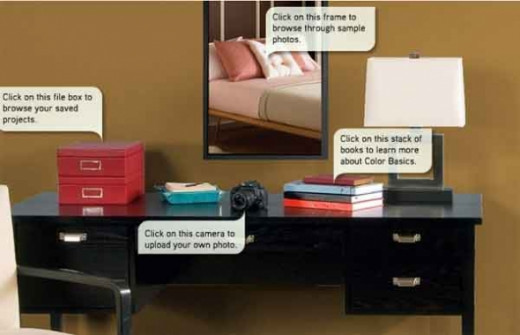 Use a color visualizer to paint your room rachael edwards for Paint your own room visualizer