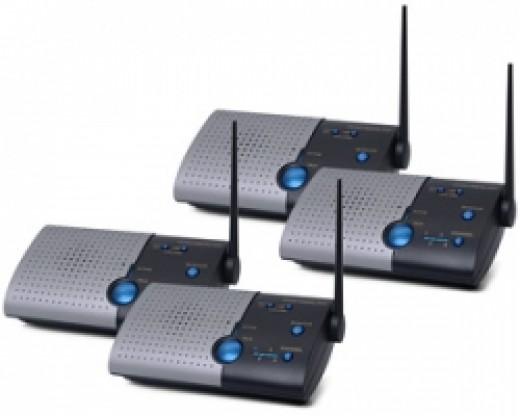 900MHz Wireless Intercom System