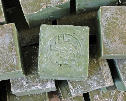 Aleppo soap for hair