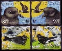 Postage stamps from Faroe