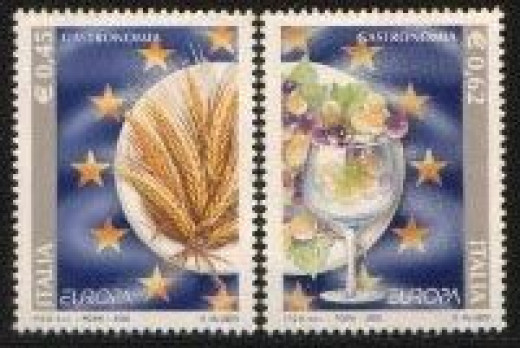 Italy new stamp issue