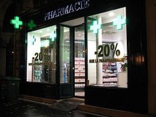 Drugstore in Paris