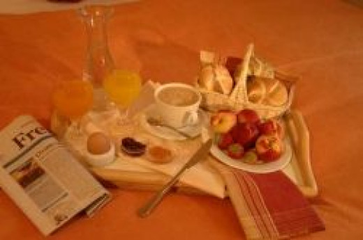 © Landhotel Grünes Gericht - What about breakfast in bed?