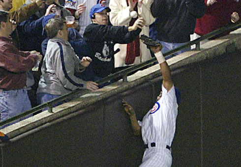 Cubs fans claim that this cost them a World Series