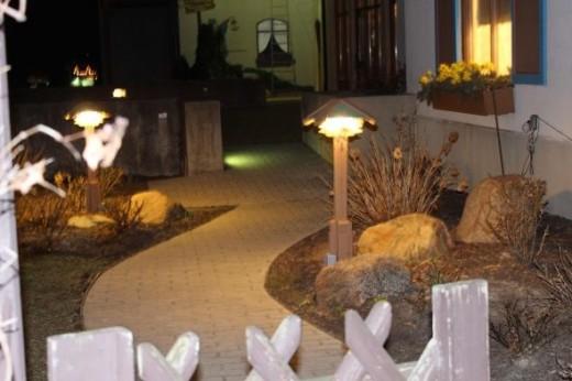 Bavarian Inn Sommer Garten