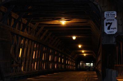 Covered Bridge: Main Thoroughfare
