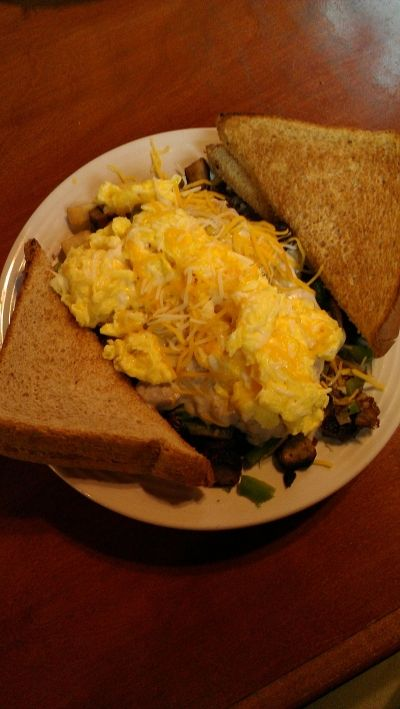 And... My Breakfast: The Farmer's Bowl. Absolutely, Amazingly Delicious!