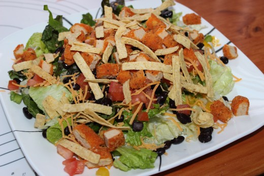 Southwest Chicken Salad. Photo by WhiteIsland88.