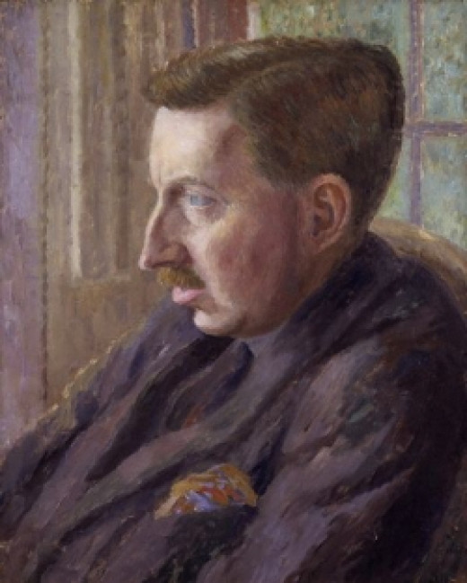 E. M. Forster, courtesy of Mikimedia Commons