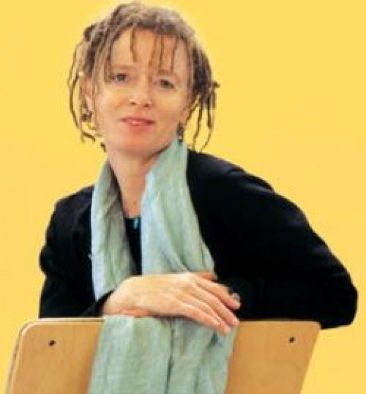 Anne Lamott, photo borrowed from Metroactive Books