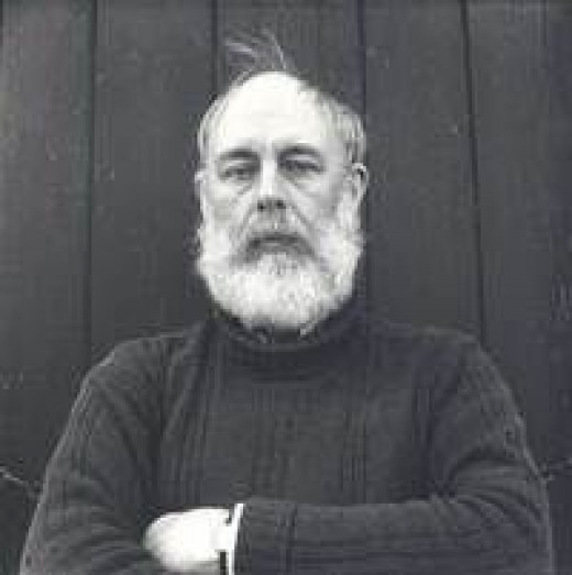 Edward Gorey, photo borrowed from Goodreads