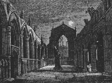 Holyrood Chapel 1823 L. J. M. Daguerre