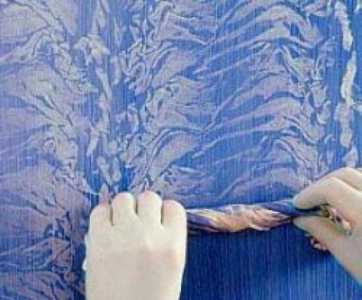 Rag rolling - decorative painting