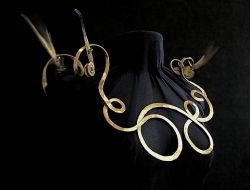 Calder necklace borrowed from Collecting Fine Jewels