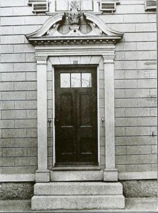 Colonial Doorway