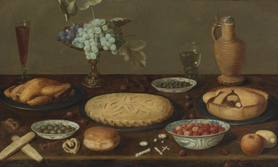 A painting of meat pies by Jacob van Es - Wikimedia
