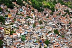Rochina Favela, Rio de Janero, Brazil - photo from Wikipedia, believed fair use