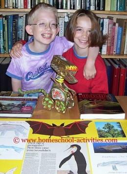 Dinosaur kids activities