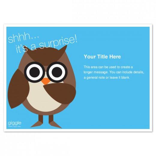 Free Owl Invitation
