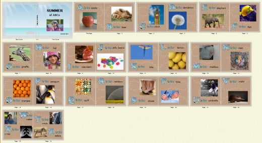 Alphabet Photo Book