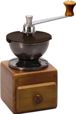 HARIO Small Coffee Grinder MM-2 Ceramic Burr COFFEE HAND Mill Grinder (Japan Import)