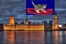 A Magic-Carpet Cat Visits London