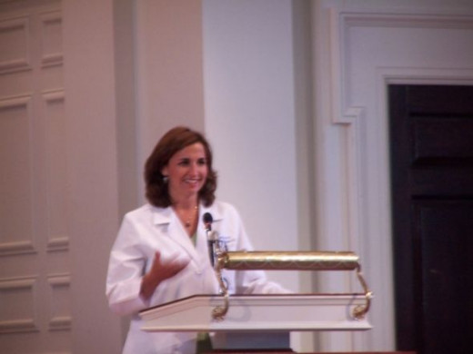 Kathleen Deep MMSc, PA-C featured speaker at Emory's 2009 White Coat Ceremony