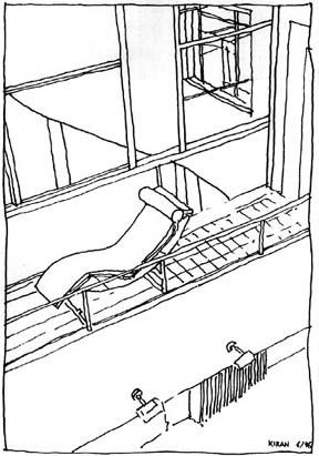 le Corbusier sketch (believed public domain)