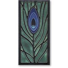 a Craftsman Style Motawi ceramic tile
