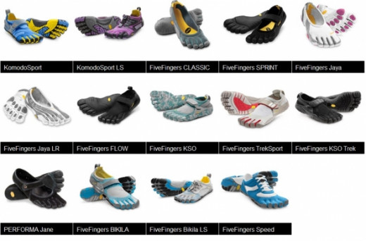 Ladies FiveFingers